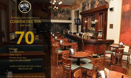 Cena del día en Bar 1900